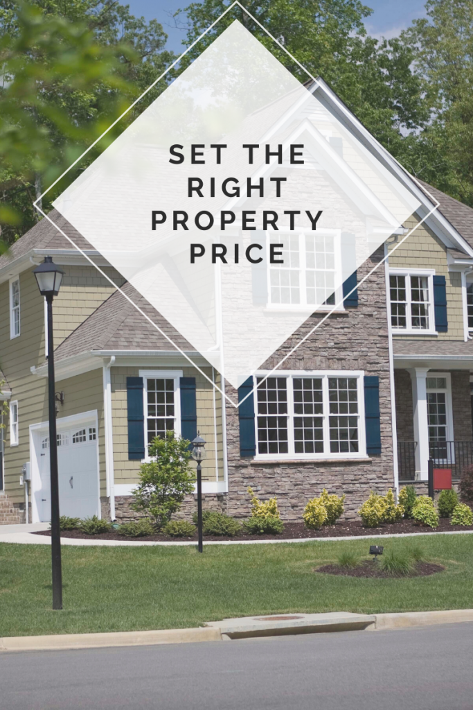 Set The Right Property Price To Sell